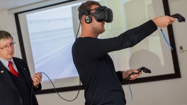 Lernen, einen Baum zu fällen – mit Virtueller Realität
