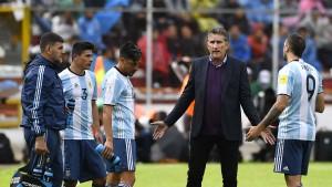 Argentinien geht ohne Messi die Luft aus