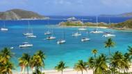 Mehr als 60 Inseln zählen zu den britischen Jungferninseln