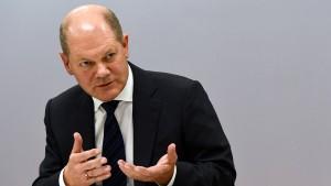 Scholz fordert EU-Haushalt für Zukunftsfragen