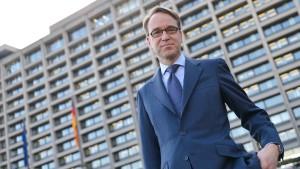 Bundesbankpräsident Weidmann offen für Risikoteilung
