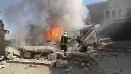 Wurden Schulen und Krankenhäuser gezielt bombardiert?