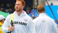Der Bruch ist nicht frisch: Christoph (links) und Robert Harting beim olympischen Wettbewerb in Rio