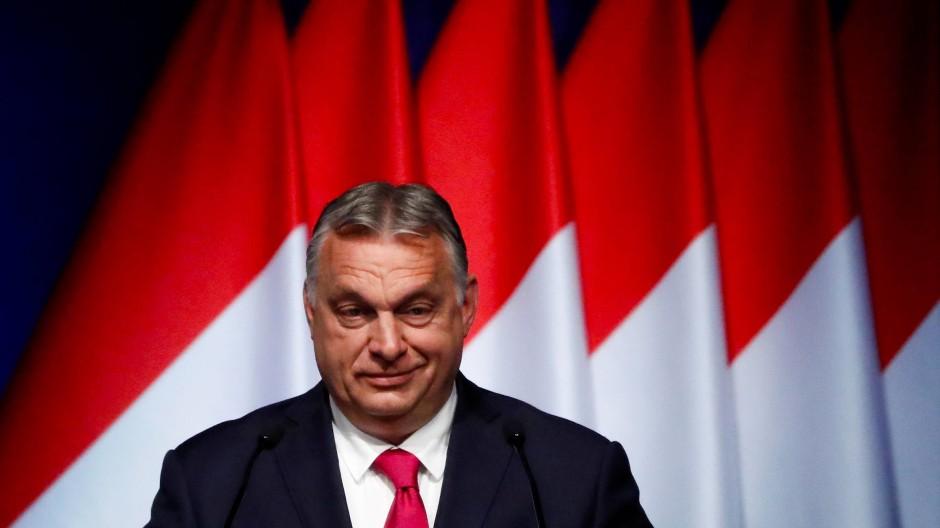 Viktor Orbán am 9. Juni in Budapest