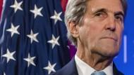 Der amerikanische Außenminister John Kerry