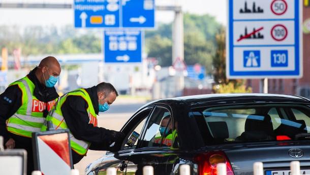 Grenzkontrollen nur noch stichprobenartig