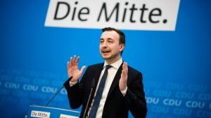 CDU-Generalsekretär Ziemiak: SPD spielt Putin in die Hände