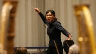 """""""Es gibt Mechanismen, die nahelegen, dass die Frage der Qualität geschlechtsspezifisch nicht neutral ist"""": Yeon Shin während eines Dirigentenwettbewerbs"""