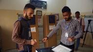 Erste Parlamentswahl im Irak