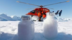 Forscher finden Mikroplastik im Schnee