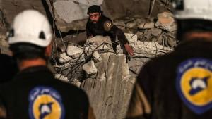 Israel bringt Hunderte Weißhelme in Sicherheit