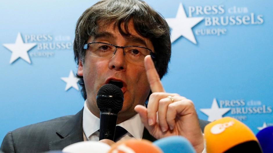 Katalonien: Puigdemont zeigt sich offen für Einigung mit Spanien