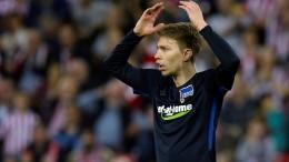 Hertha verliert und scheidet aus