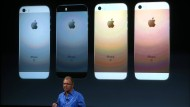 Erhältlich ist das iPhone SE in vier Farben.