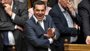 Tsipras übersteht Vertrauensfrage
