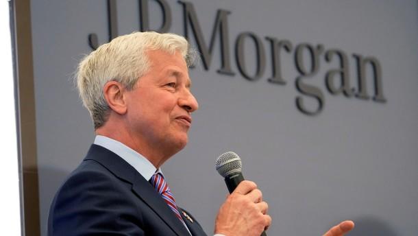 J.P. Morgan überrascht mit höherem Gewinn