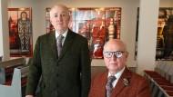 Duo Gilbert & George stellt in Berliner Kirche aus