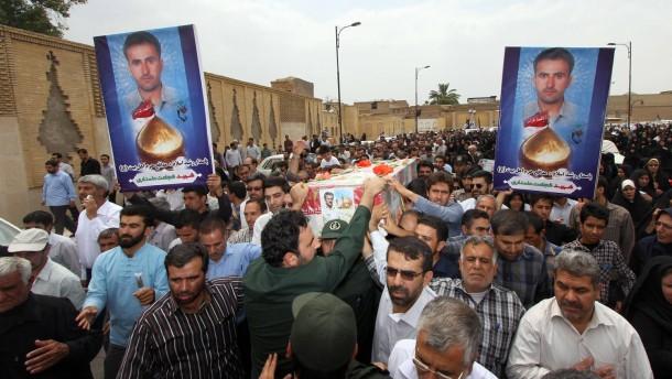 Iranischer Pilot im Irak getötet