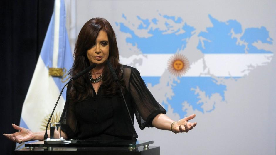 Der argentinischen Präsidentin Cristina Kirchner bläst immer stärkerer Gegenwind entgegen