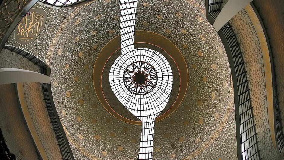 Kuppel der Kölner Zentralmoschee