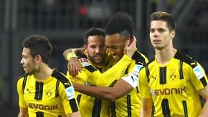 Ganz leichtes Spiel für Dortmund