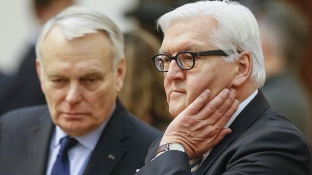 Steinmeier droht Ukraine mit IWF-Zahlungs-Stopp