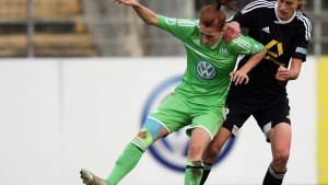Wolfsburg zu stark für Frankfurt