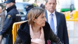 Untersuchungshaft für katalanische Parlamentspräsidentin angeordnet