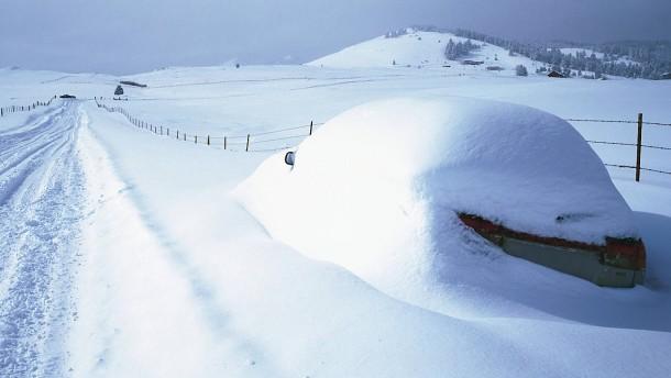 So fährt das Auto auch im Schnee