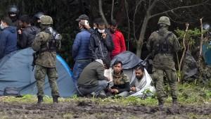 4300 Migranten über Belarus-Route nach Deutschland eingereist