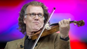 Andre Rieu performs in hometown