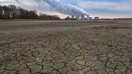 Die Angst vor dem Wassermangel wächst