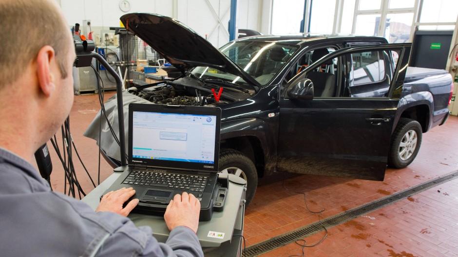 Dieser Diesel hat ein Software-Update erhalten.