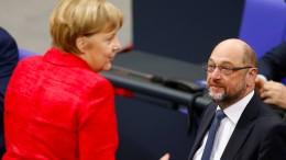 """Merkel verspricht SPD """"ernsthafte"""" Gespräche"""