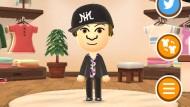 Miitomo: Im Shop virtuell neu einkleiden, bezahlt wird aber mit echtem Geld.