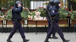 Zahl der Verletzten nach Amoklauf an russischer Universität gestiegen