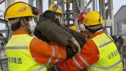 Rettung für Grubenarbeiter in China
