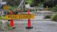 Süden des Landes nach Sturm ohne Strom