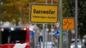 Corona-Hotspot Baesweiler mit Inzidenz von 554