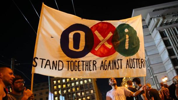 """Brief Nach Griechenland Adressieren : Nach griechenland referendum """"neue verhandlungen sind"""