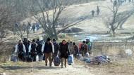 Vierzig Prozent der Migranten haben keine Aussicht auf Schutz