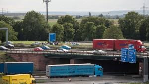Brückenerneuerung: Wiesbadener Kreuz wird zur Baustelle