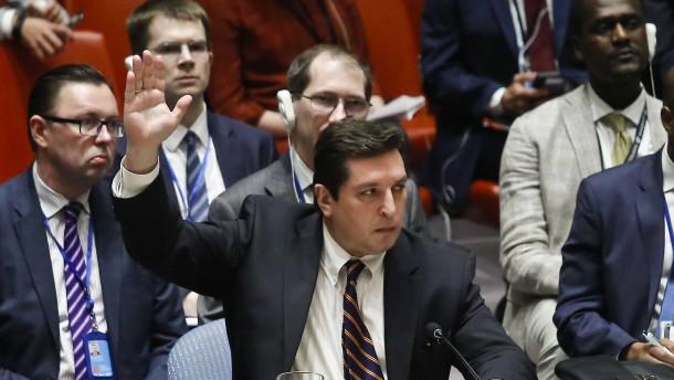 Gabriel kritisiert Russlands Veto