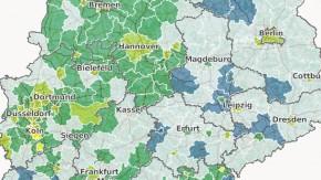 So schnell sind die Internetzugänge in Deutschland