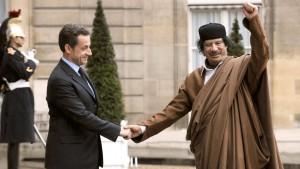 Spendete Gaddafi für Sarkozys Wahlkampf?