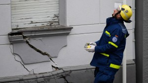 Sechs Häuser in Wuppertal einsturzgefährdet