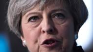 Mit ihr ist nicht gut abendessen: Großbritanniens Premierministerin Theresa May