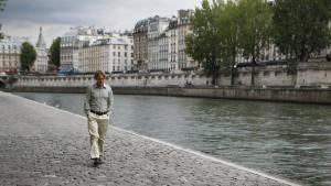 Auf einer Wolke am Montmartre