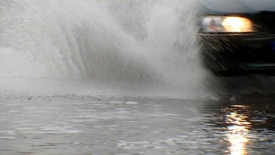 Berliner Stadtteile unter Wasser