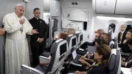 """Papst nennt Leugner des Klimawandels """"dumm"""" und """"stur"""""""